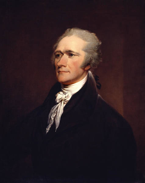 Declaration Of Independence Wall Art - Painting - Alexander Hamilton By John Trumbull by War Is Hell Store