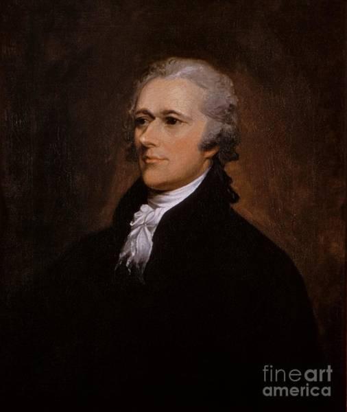 Painting - Alexander Hamilton Portrait by John Trumbull
