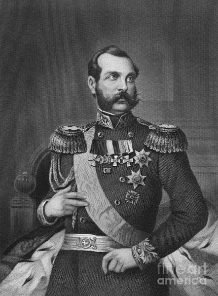 Epaulette Photograph - Alexander II (1818-1881) by Granger