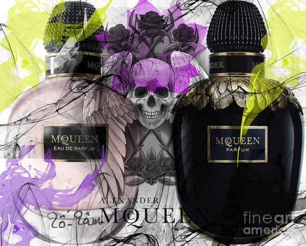 Wall Art - Digital Art - Alexander Mcqueen Parfumes by To-Tam Gerwe