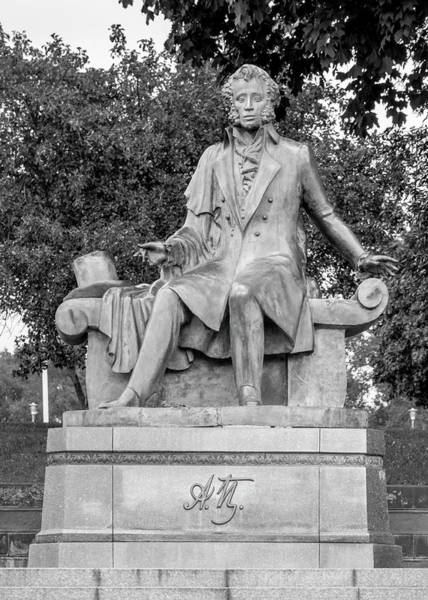 Photograph - Alexander Pushkin Memorial by Andy Crawford
