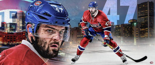 Montreal Canadiens Digital Art - Alexander Radulov Artwork by Nicholas Legault