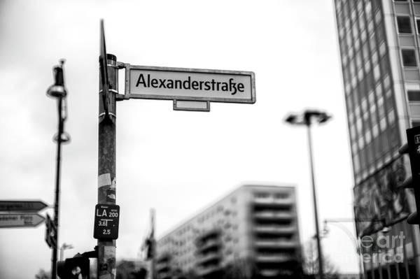 Wall Art - Photograph - Alexander Street Berlin by John Rizzuto