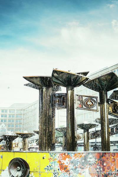 Wall Art - Photograph - Alexanderplatz Friendschip Fountain by Pati Photography