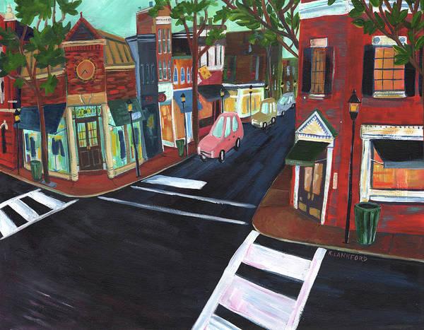 Washington D.c Painting - Alexandria, Virginia by Kristy Lankford