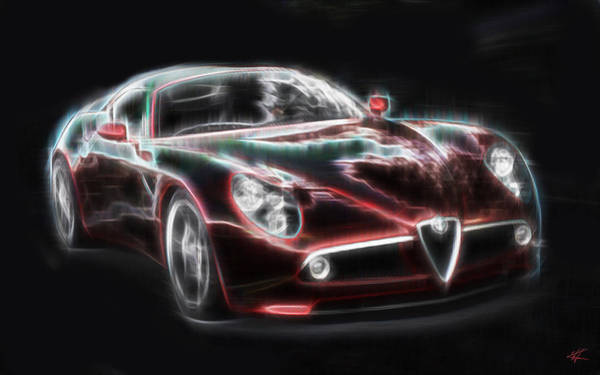 Digital Art - Alfa by Kenneth Armand Johnson