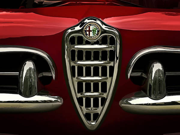 Wall Art - Digital Art - Alfa Red by Douglas Pittman