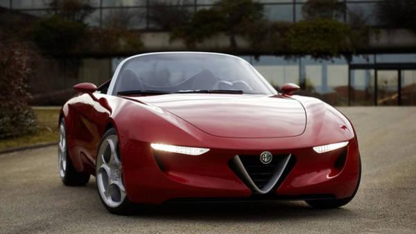 Alfa Romeo Photograph - Alfa Romeo 2uettottanta by Mariel Mcmeeking