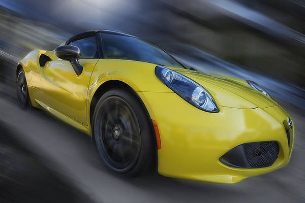 Wall Art - Photograph - Alfa Romeo 4c Spider by Larry Helms