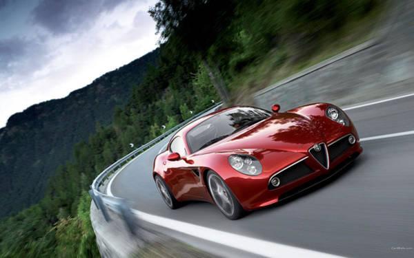 Alfa Romeo Photograph - Alfa Romeo 8c Competizione by Jackie Russo