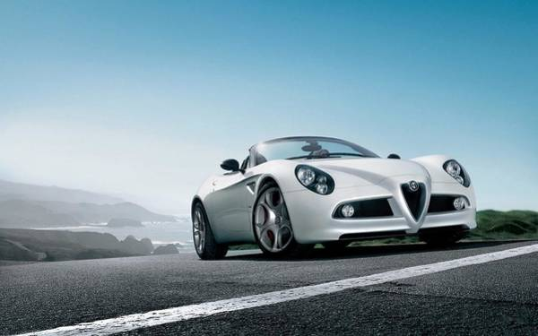 Alfa Romeo Photograph - Alfa Romeo 8c Spider by Mariel Mcmeeking