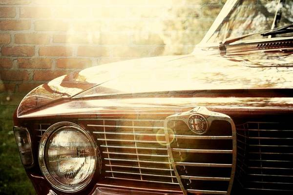 Photograph - Alfa Romeo by Digital Art Cafe