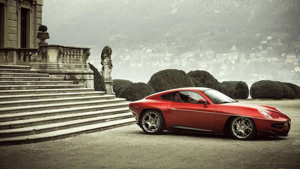 Alfa Romeo Photograph - Alfa Romeo Disco Volante by Mariel Mcmeeking