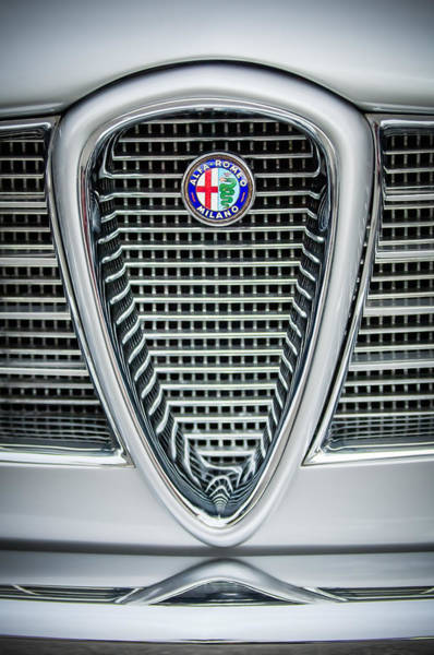 Photograph - Alfa-romeo Grille Emblem by Jill Reger