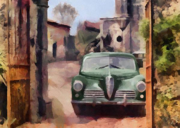 Alfa Romeo Painting - Alfa Romeo  by Sergey Lukashin
