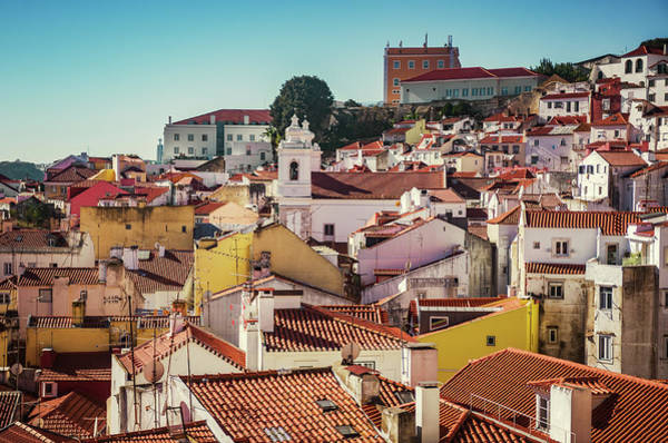Wall Art - Photograph - Alfama Rooftops by Carlos Caetano