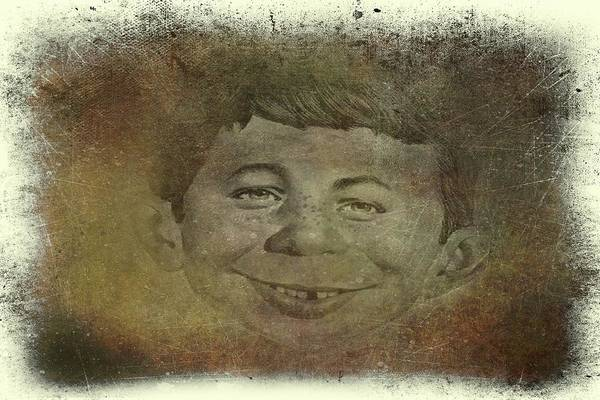 Digital Art - Alfred E. Neuman by Movie Poster Prints