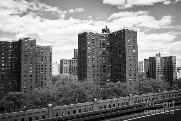 Wall Art - Photograph - alfred e smith houses public housing development manhattan New York City USA by Joe Fox