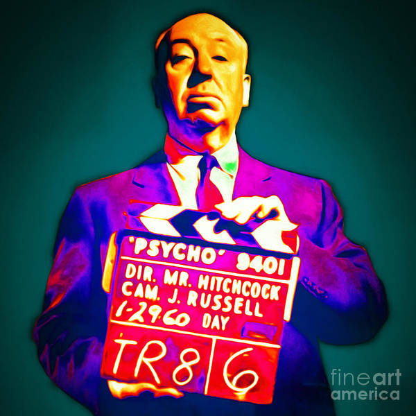Photograph - Alfred Hitchcock Psycho 20151218 Square by Wingsdomain Art and Photography