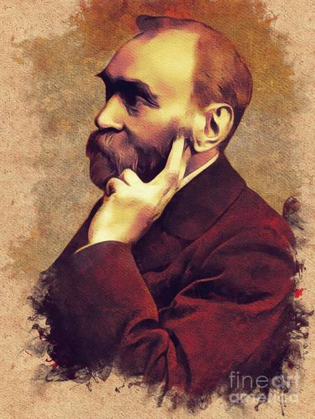 Nobel Painting - Alfred Nobel, Inventor by Mary Bassett