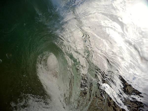 Bodyboard Photograph - Algae Monster by Benen  Weir