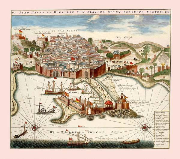 Photograph - Algiers 1690 by Andrew Fare