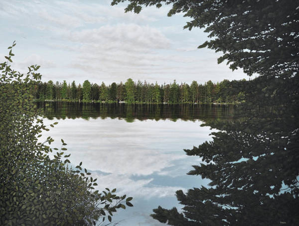 Painting - Algonquin Park by Kenneth M Kirsch