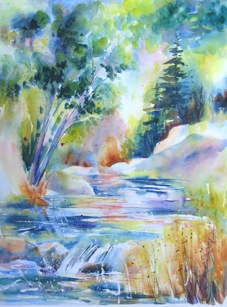 Painting - Algonquin Waters by John Nussbaum