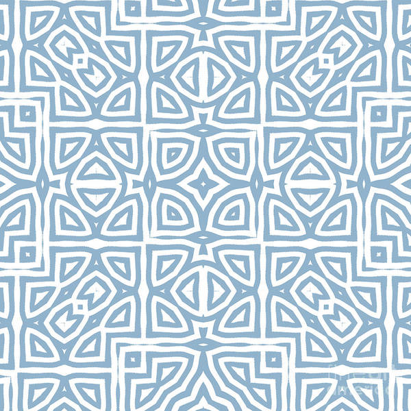 Wall Art - Painting - Alhambra Blue by Mindy Sommers
