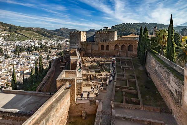 Photograph - Alhambra Castle by Adam Rainoff