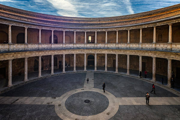 Photograph - Alhambra Palace Carlos V by Adam Rainoff
