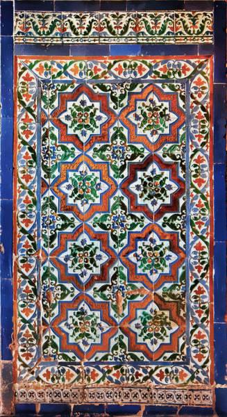 Photograph - Alhambra Tiles by Adam Rainoff