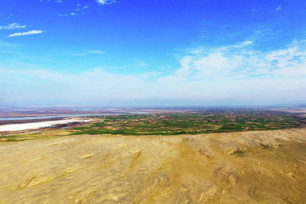 Photograph - Aliabad And Kunduz River by SR Green