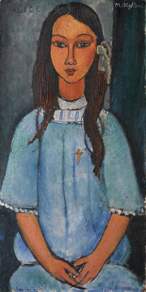 Wall Art - Painting - Alice Amedeo Modigliani 1918 by Movie Poster Prints