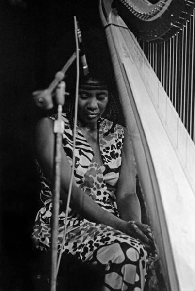 Photograph - Alice Coltrane by Lee Santa