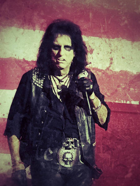 Alice Cooper Photograph - Alice by Dave Bowman
