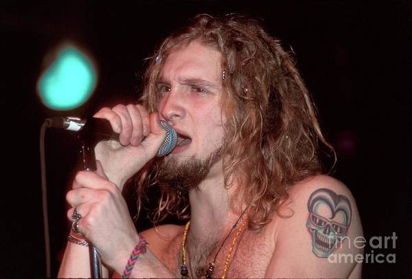 Wall Art - Photograph - Alice In Chains Layne Staley by Concert Photos