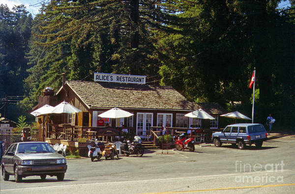 Woodside Photograph - Alices Restaurant by Rod Jones