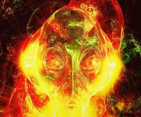 Ufo Digital Art - Alien God by Raphael Terra