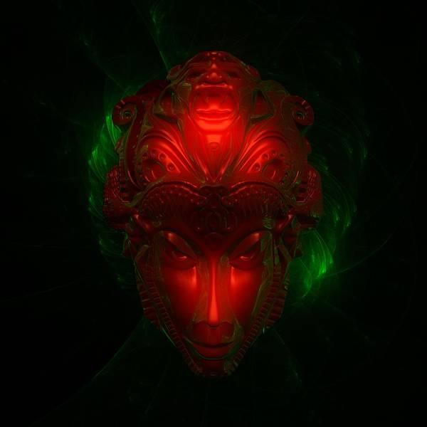 Area 51 Digital Art - Alien Goddess By Raphael Terra by Raphael Terra