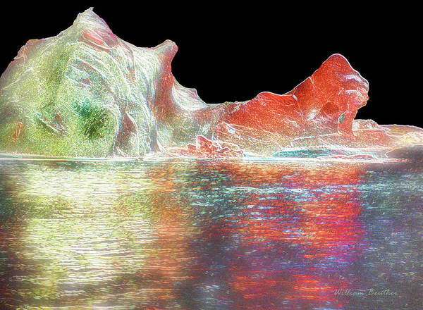 Photograph - Alien Ice 3 by William Beuther