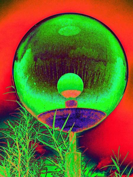 Photograph - Alien Orb by Richard Henne