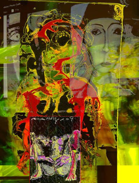 Anguish Mixed Media - Alienation by Noredin Morgan