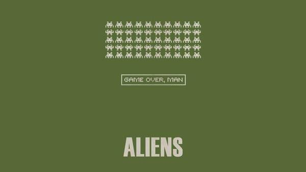 Alien Digital Art - Aliens by Maye Loeser