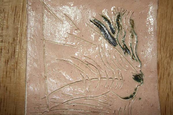 Ceramic Art - Alight - Tile by Gloria Ssali