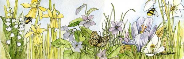 Alive In A Spring Garden Art Print
