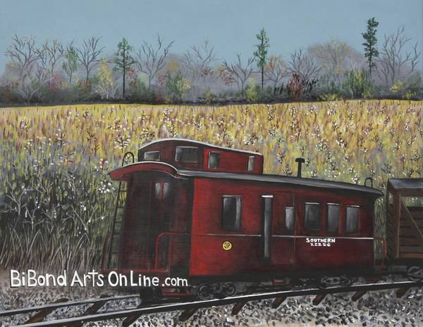 Painting - All Aboard by Virginia Bond