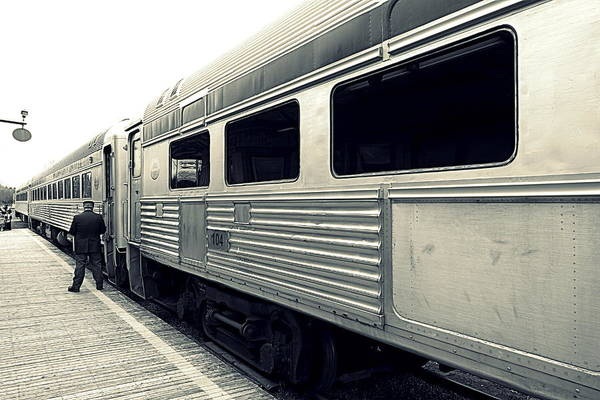 Wall Art - Photograph - All Aboard by Valentino Visentini
