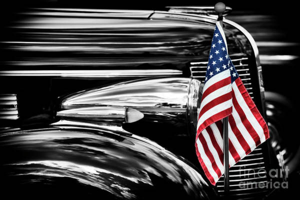 All American Buick Art Print by Tim Gainey