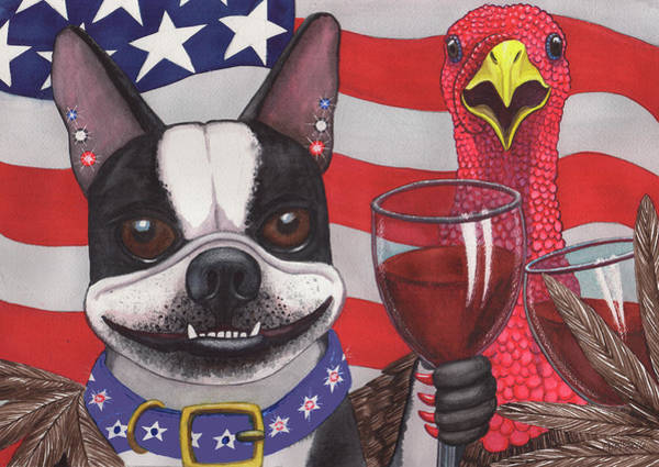 Painting - All American Winers by Catherine G McElroy